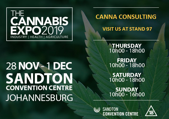 Cannaconsulting at the Cannabis expo 2019